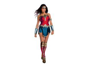 Disfraz Mujer Maravilla Adulta Carnaval,Único Color,hi-res