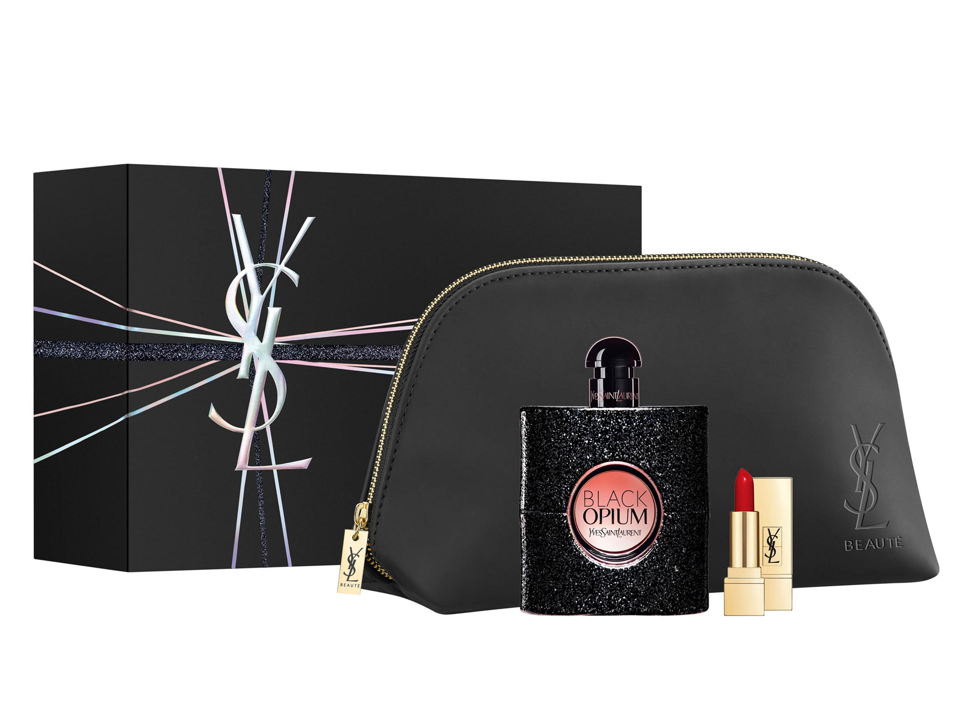 Yves Opium Set En Perfume Edp Black Saint Laurent 90 Perfumes Ml A54RjL