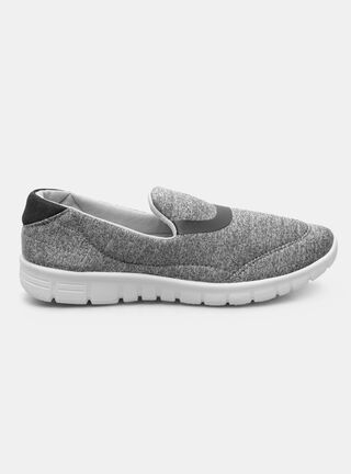Zapatilla Deportiva Rainforest Slip On Melange,Grafito,hi-res
