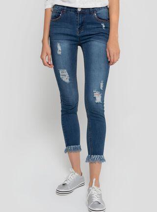 Jeans Flecos Aussie,Azul,hi-res