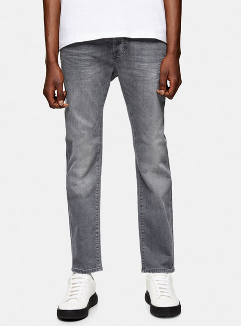 Jeans%20Gris%20Stretch%20Slim%20Topman%2C%C3%9Anico%20Color%2Chi-res