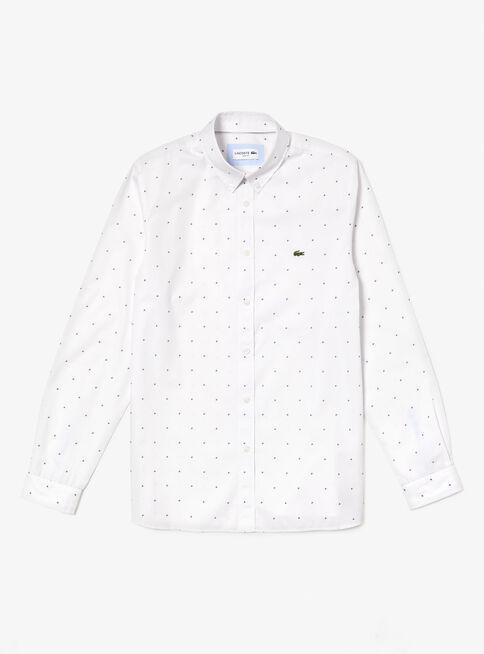 Camisa%20Casual%20Manga%20Larga%20Lacoste%2CBlanco%2Chi-res