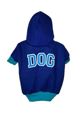 Polerón para Perro Estampado DOG Talla S Mascotachic,Azul,hi-res