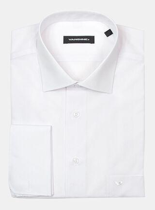 Camisa Slim Fit Vandine Blanco,Blanco,hi-res