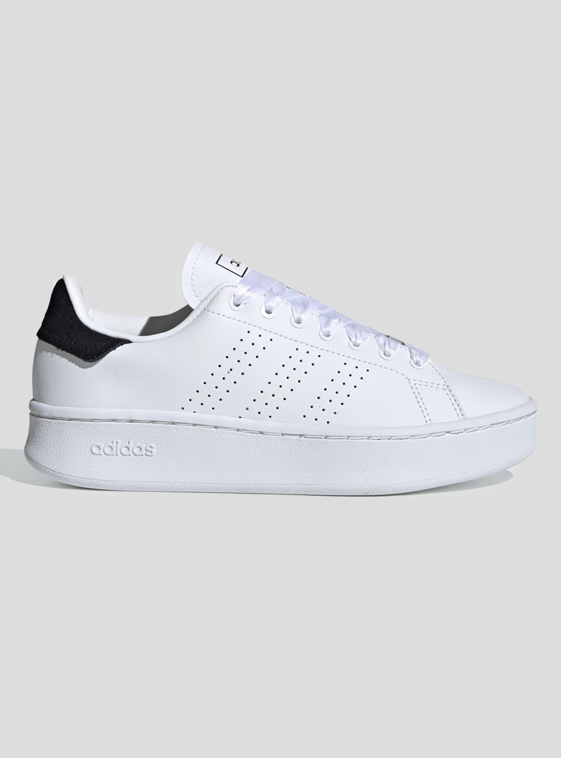 zapatillas blanca adidas mujer