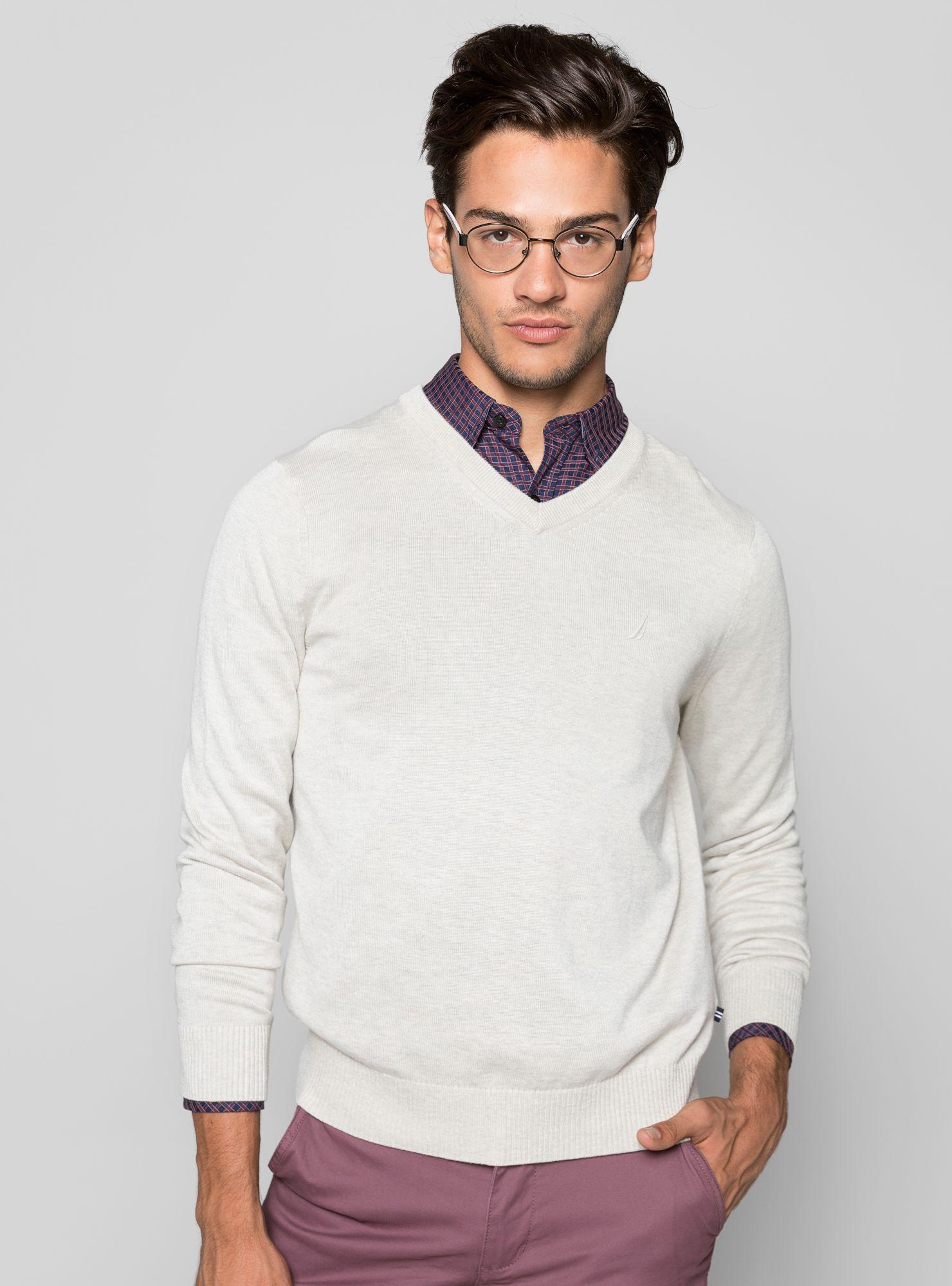 eefa46f84 Sweater Básico Cuello V Nautica - Sweaters y Chalecos