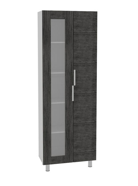 Combo Muebles Cocina Fendi Rovere Gris Alacena + Muebles Microondas +  Interior + Superior TuHome