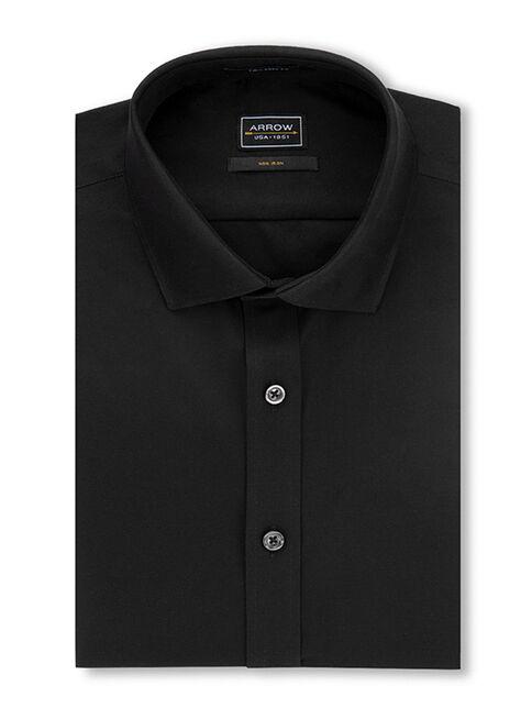 Camisa%20Non%20Iron%20Dise%C3%B1o%20Liso%20Negro%20Arrow%2CNegro%2Chi-res