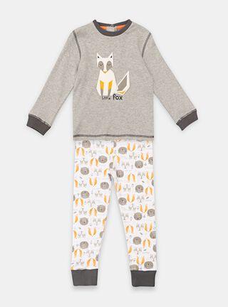 Pijamas Tribu Estampado Niño,Ceniza,hi-res
