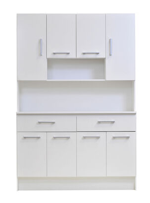 Kit Mueble de Cocina 8 Puertas 121x36x180 cm Mobikit