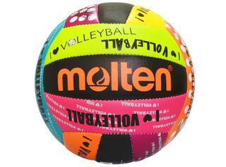 Pelota Volley Diseño Love Molten,Negro Mate,hi-res