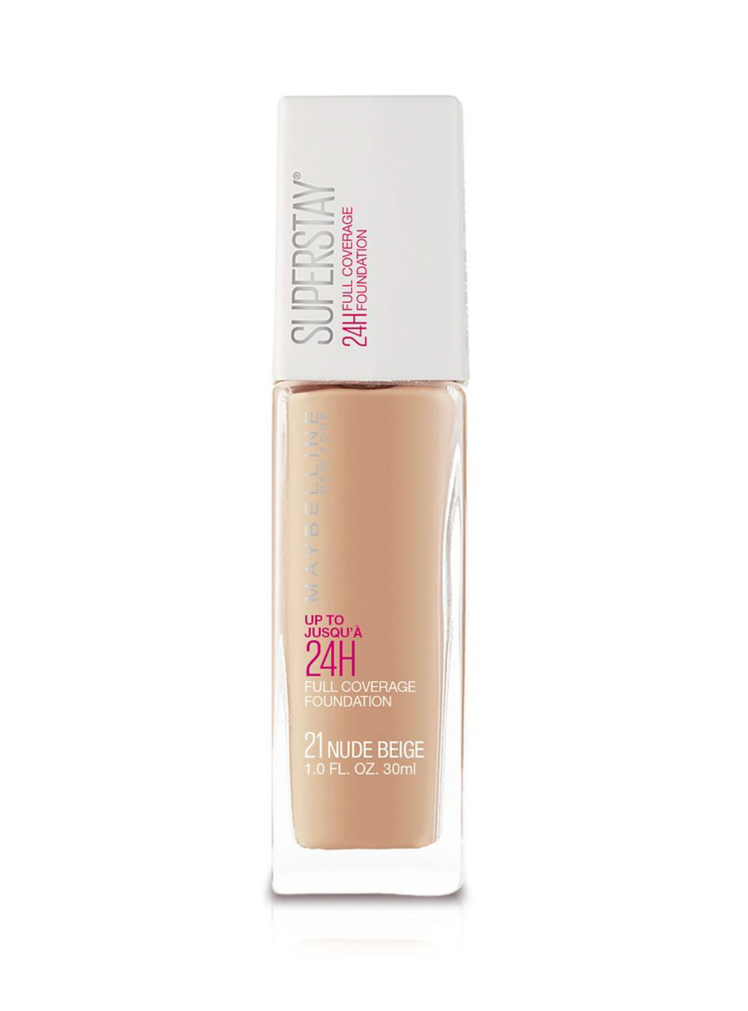 688390b0b Images. Base de Maquillaje Superstay 24 Horas Full Coverage 021 Nude Beige  Maybelline ...