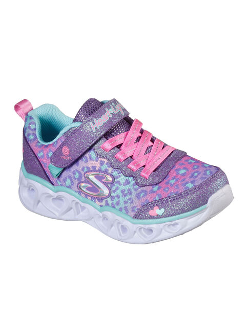 Zapatilla%20Urbana%20Skechers%20Heart%20Lights%20Ni%C3%B1a%2CMorado%2Chi-res