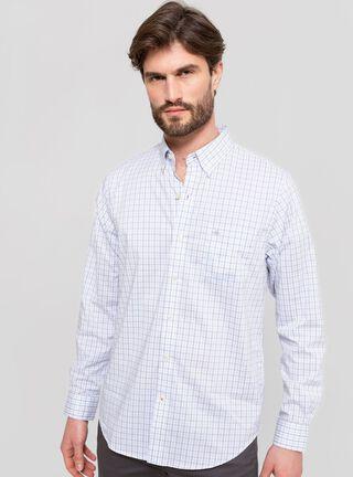 Camisa Manga Larga Cuadrillé Dockers,Verde Esmeralda,hi-res