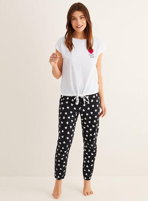 Pijama%20Modelo%20Daily%20Hearts%20Women'Secret%C2%A0%2CVerde%20Esmeralda%2Chi-res