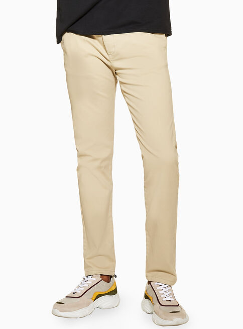 Pantal%C3%B3n%20Stone%20Stretch%20Skinny%20Chino%20Topman%2C%C3%9Anico%20Color%2Chi-res