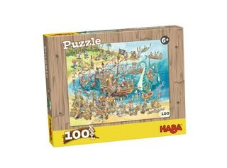Puzzle Piratas 100 Piezas Haba,,hi-res