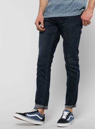 Jeans Skinny Fit Denim Foster,Azul Oscuro,hi-res