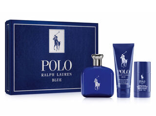 Set Perfume Ralph Lauren Polo Blue EDT 125 ml + Hair Body Wash + Desodorante,,hi-res
