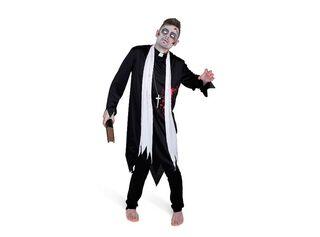 Disfraz Zombie Cura Adulto XL Carnaval,Único Color,hi-res
