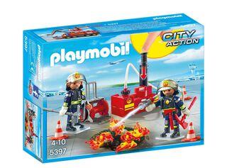 Equipo de Bomberos Playmobil,,hi-res