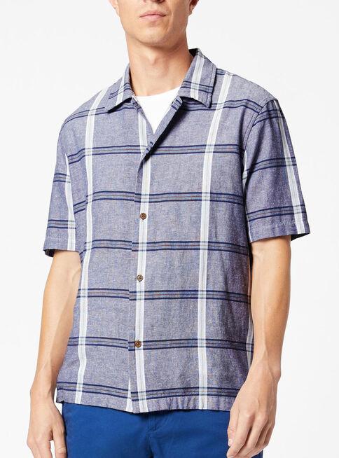 Camisa%20Manga%20Corta%20Flax%20Woven%20Gris%20%2CGris%2Chi-res