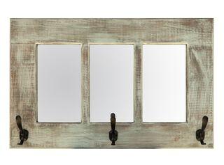 Espejo Colgante Lanalhue Blanco Attimo 70 x 45 cm,,hi-res