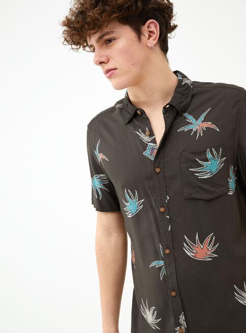 Camisa%20Manga%20Corta%20Viscosa%20Full%20Print%20Aussie%2CNegro%2Chi-res