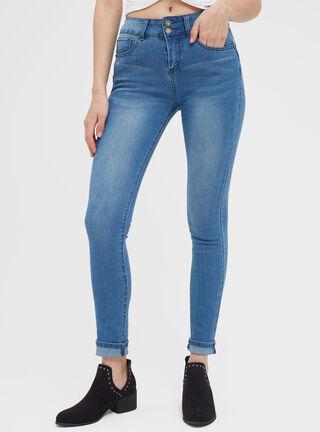 Jeans Indigo Medio Focalizado JJO,Azul Eléctrico,hi-res