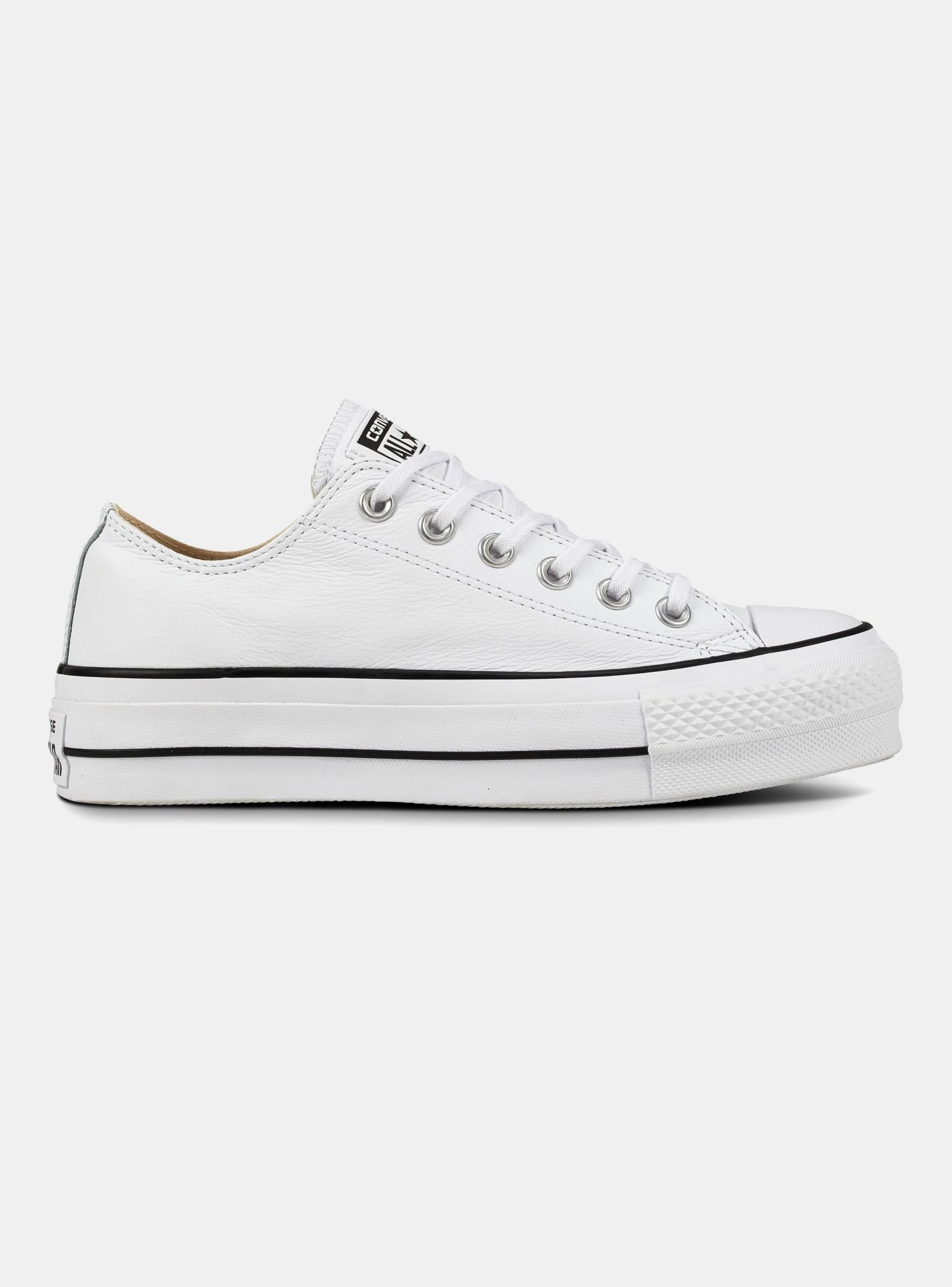 Detalles de Zapatos Converse Chuck Taylor All Star Clean Lift Low Top 565501C 9W