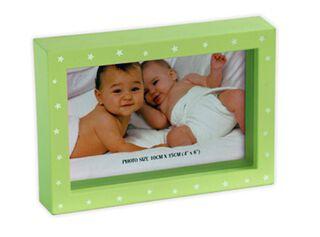 Marco de Fotos Plástico Attimo 13 x 18 cm,Verde,hi-res