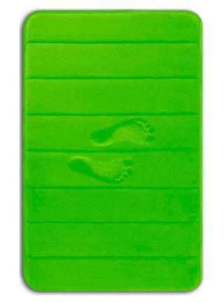 Memory Foam Bath Mat Green Yimobra,,hi-res