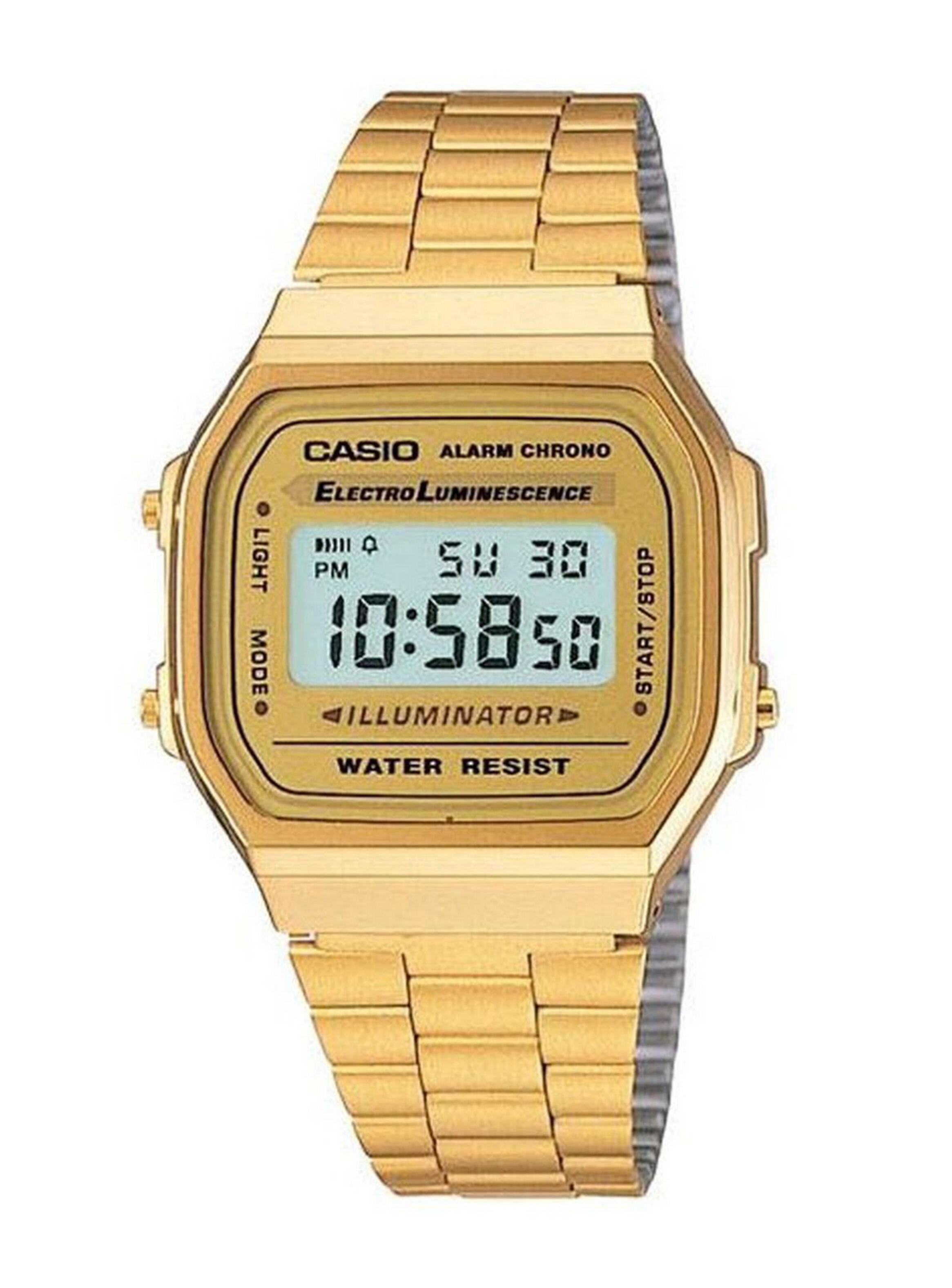 En A168wg Digital Gold 9wdf Reloj Casio RelojesParis Mujer E9WDH2YIe