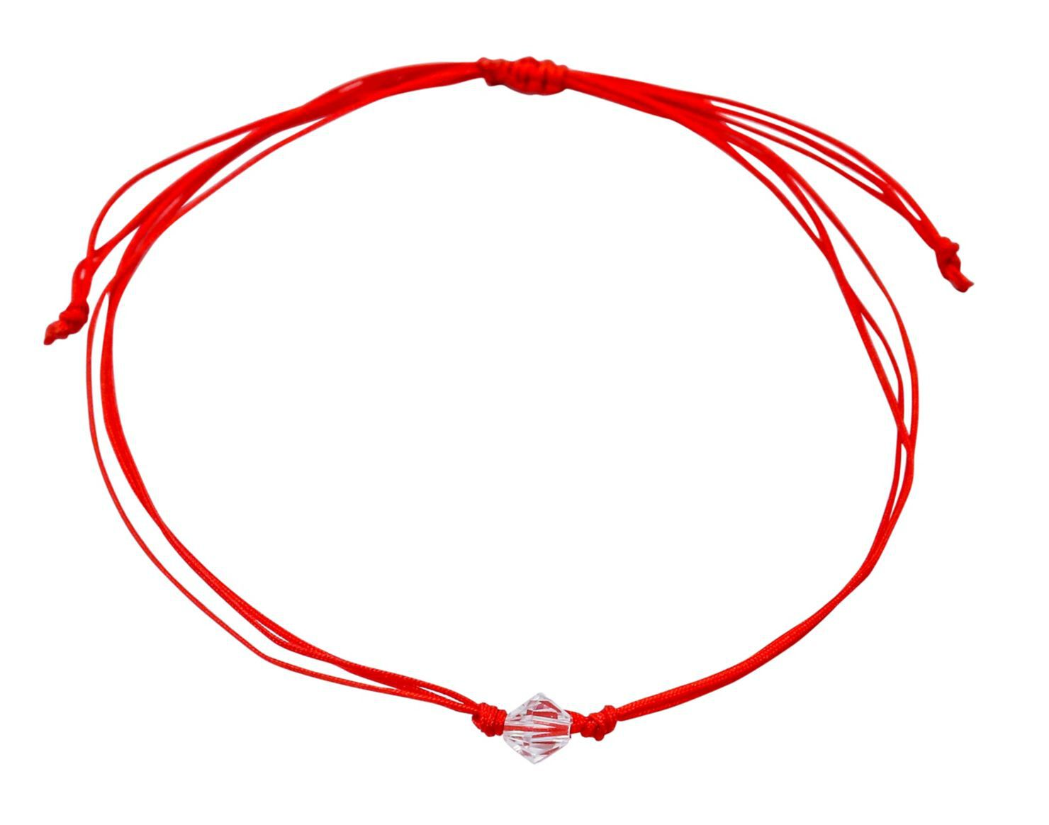 74cb6ef065c Pulsera Moskatel Hilo Rojo con Cristal Swarovski - Joyas