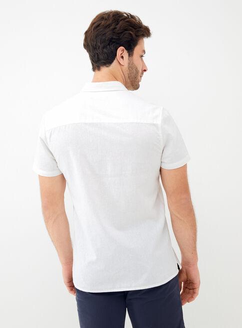 Camisa%20Manga%20Corta%20Lino%20Lisa%20Alaniz%2CBlanco%2Chi-res