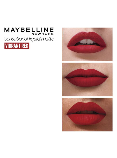 Labial%20Sensational%20Liquid%20Matte%2016%20Vibrant%20Red%20Maybelline%2C%2Chi-res