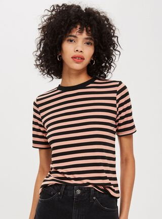Polera Stripe Premium Clean Topshop,Único Color,hi-res