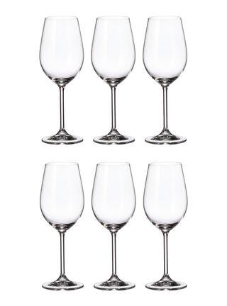 Set 6 Copas Vino Blanco Cristal Bohemia,,hi-res