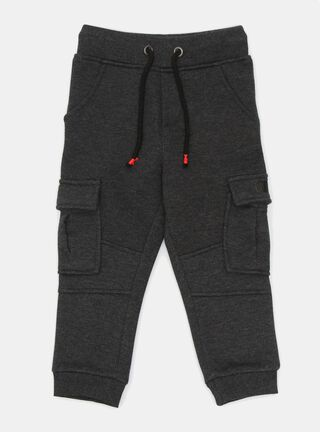 Pantalón Tribu Jaspeado Niño,Carbón,hi-res