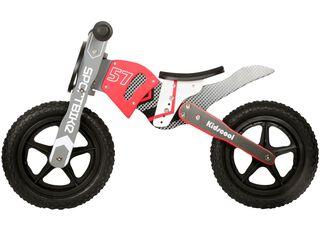 Bicicleta de Madera Moto MX Kidscool Rojo,,hi-res
