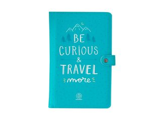 Portadocumentos Be Curious & Travel More Mr Wonderful,,hi-res