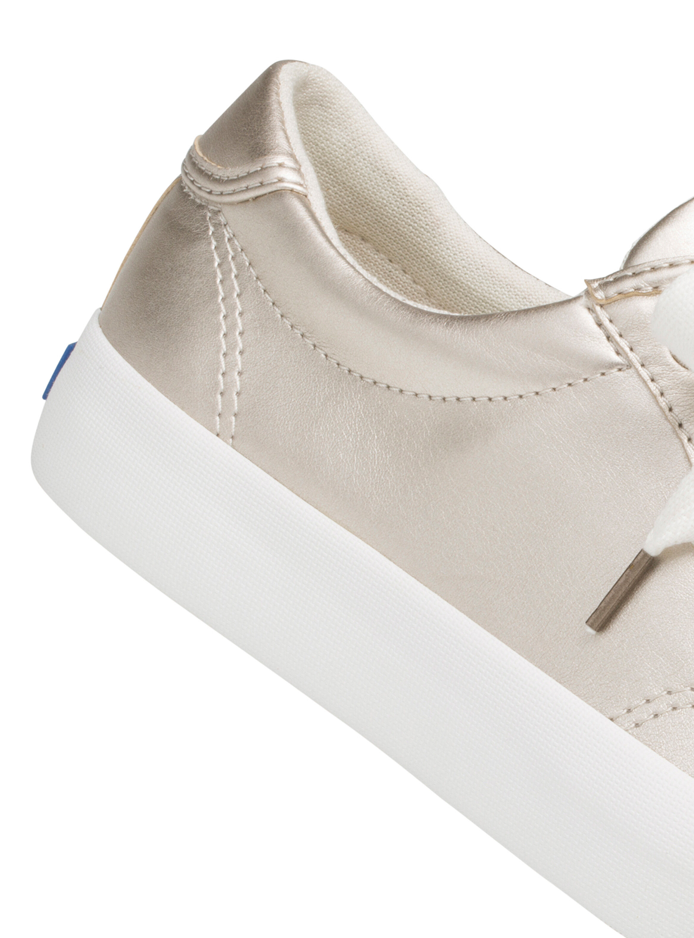 zapatillas keds doradas juveniles