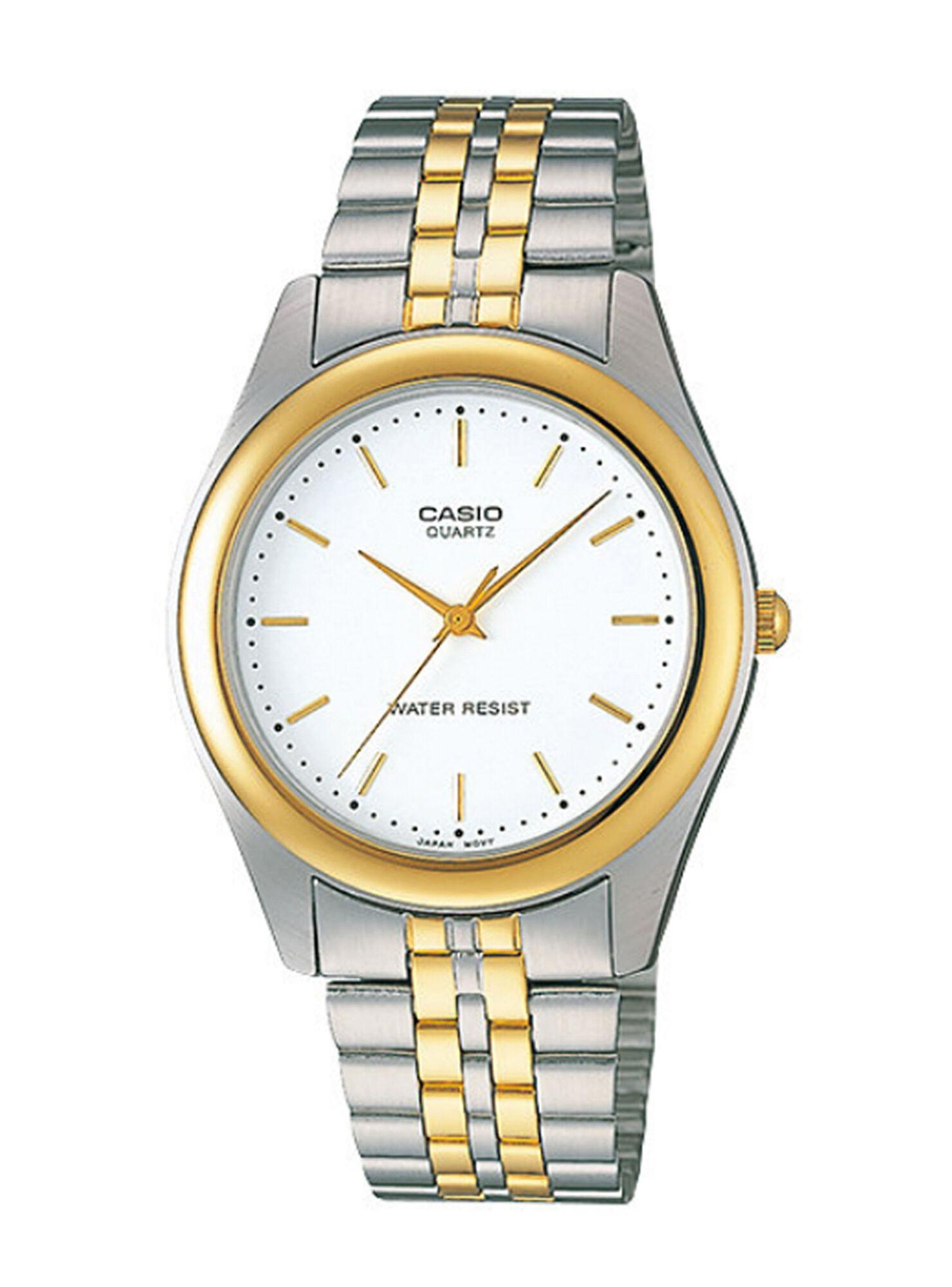1d82930e58d2 Reloj Hombre Análogo Mtp Plateado Casio en Relojes