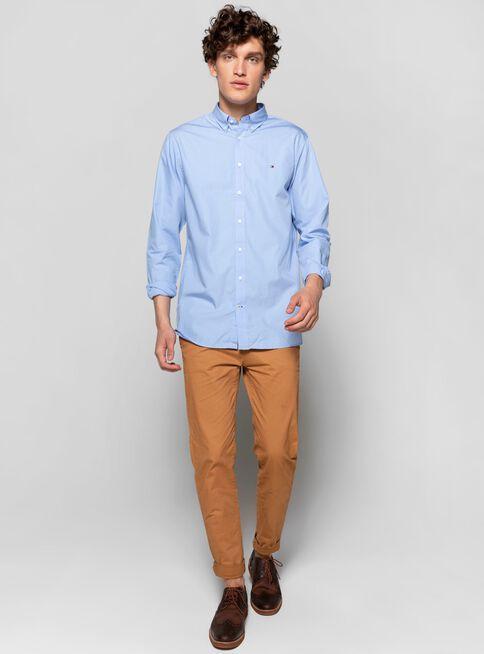 Camisa%20Poplin%20B%C3%A1sico%20Regular%20Fit%20Tommy%20Hilfiger%2CBlanco%2Chi-res