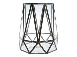 Fanal Iron Glass 29x29x30cm Alaniz Home,,hi-res