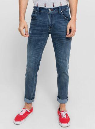 Jeans Slim Fit Wrangler,Azul Petróleo,hi-res