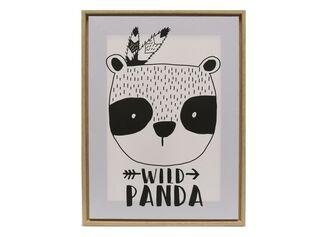 Canvas Wild Panda 30 x 40 x 2,5 cm Attimo Kids,,hi-res