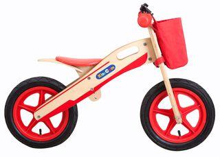 Bicicleta de Madera Aprendizaje Niños Kidscool Rojo,,hi-res