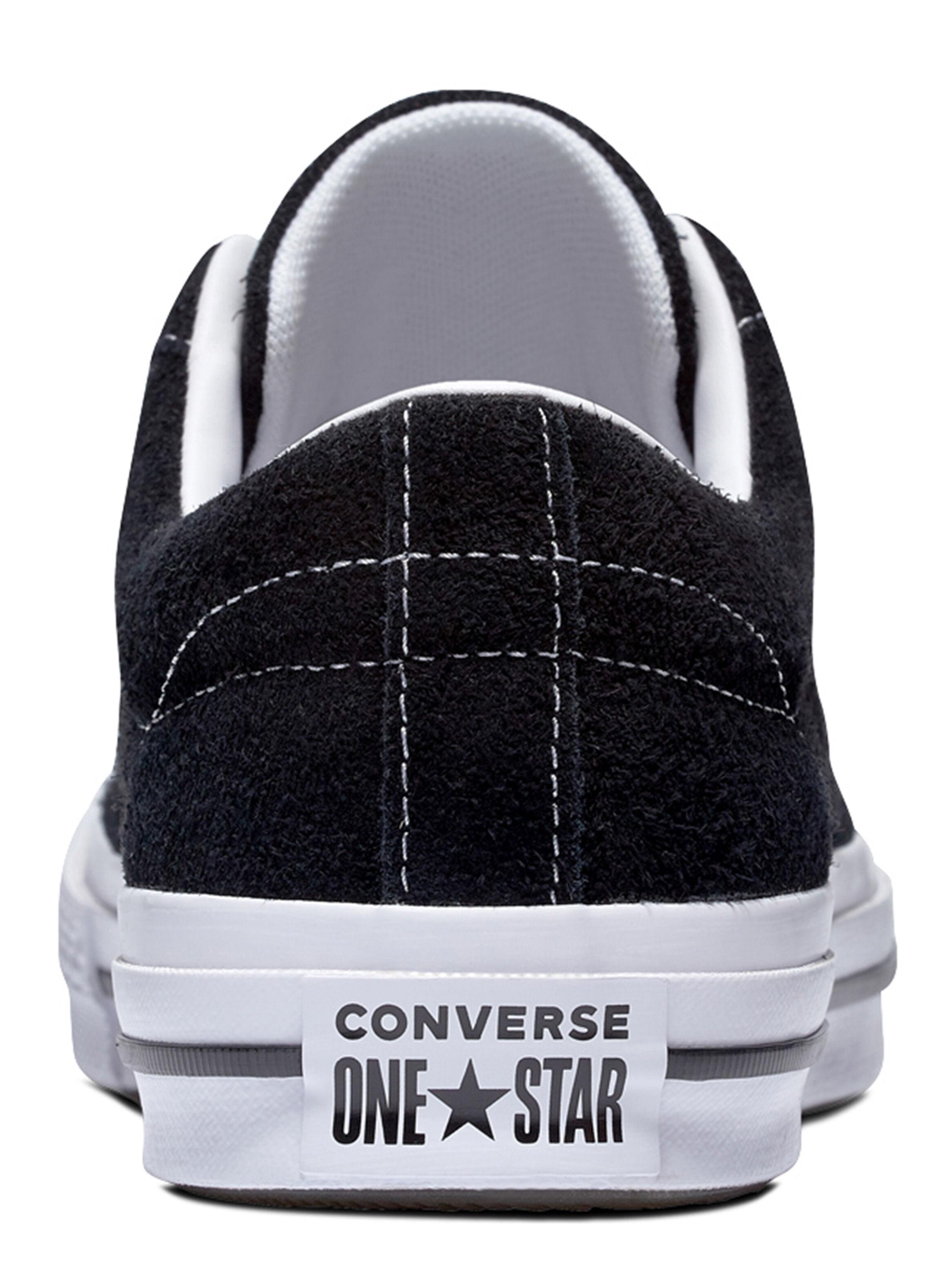 zapatilla negra hombre converse
