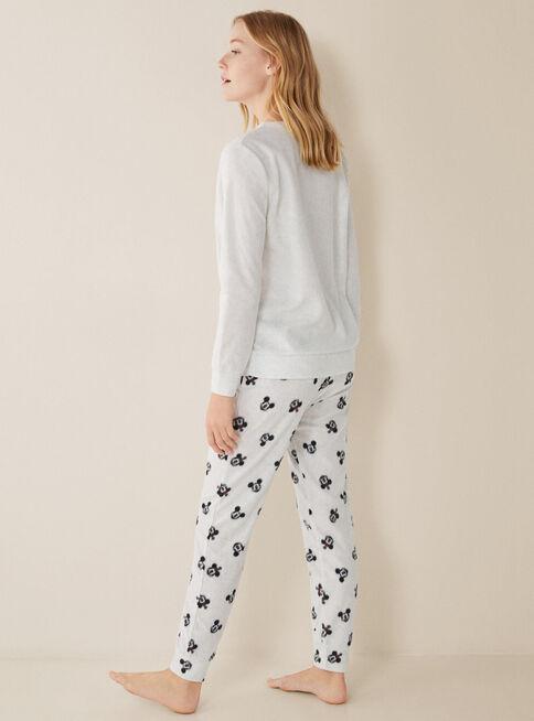 Pijama%20Micropolar%20Family%20Women'Secret%2CNegro%2Chi-res